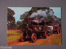 R&L Postcard: Foden Steam Tractor LG8784, Talisman & Land Rover