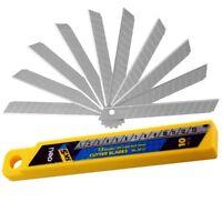 Deli  Boîte de 10 Lames de rechange pour Cutter 9 mm Qualité PRO