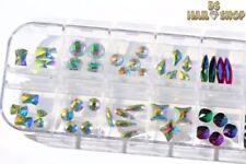 Markenlose Nail-Art-Strasssteine mit Hologramm-Effekt