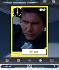 Topps Star Wars Card Trader SWCT Han Solo 2019 Celebration 72 Hour Award