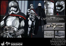 "NEW HOT TOYS 12"" STAR WARS THE FORCE AWAKENS CAPTAIN PHASMA 1/6 FIGS LE TFA"