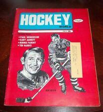 Hockey World Magazine January 1969 Bob Nevin