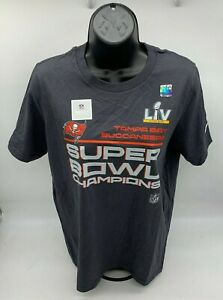 Women's Nike  Tampa Bay Buccaneers Super Bowl LV Champions Locker Room TShirt