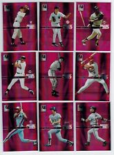 2004 DONRUSS ELITE BASEBALL PASSING THE TORCH 45-CARD NEAR 34/45 HOFERS ALL SCAN