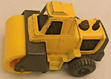 Vintage Tootsietoy Steam Roller Yellow Free Shipping