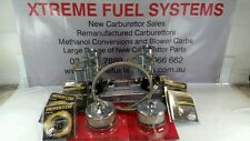 RECO TWIN STROMBERG CARBS + USED INTAKE MANIFOLD POLISH FINISH SUIT GREY ENGINE