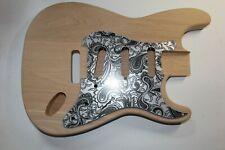 Hermosa gemasert Strat statocaster body Swamp Ash 1,65 kg gitarrenbau sumpfesche