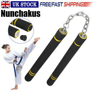 Martial Arts Kung Fu Training Practice Foam Nunchucks Nunchaku Kids Gift UK