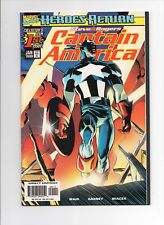 CAPTAIN AMERICA #1 vol 3 Marvel 1998 Mark Waid Ron Garney