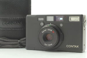 [MINT] Contax Tix Black Point & Shoot APS Film Camera Sonnar 28mm f2.8 T* JAPAN