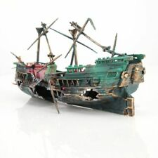 Big Aquarium Ship Decoration Aquarium Ship Air Split Shipwreck Fish Tank