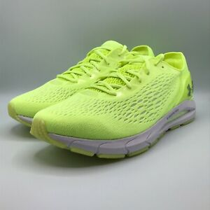 Under Armour Mens 12 HOVR Sonic 3 W8LS Running Shoes Sneakers Yellow 3023175-700