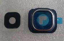 Lente fotocamera camera lens VETRO CAM quadro copertura Samsung Galaxy s6 g920f