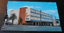 Vintage Postcard Capri Motor Hotel Vancouver BC 1956 Chevy