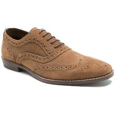 Red Tape Thorpe Tan Mens Suede Brogue Formal Shoes UK UK 9