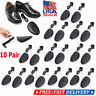 10 Pair Plastic Adjustable Keepers Support Stretcher Shoe Shapers Men Shoes Tree