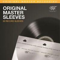 *NEW* 50 MOFI - Mobile Fidelity Sound Lab - MFSL Vinyl LP Record Inner Sleeves