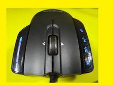 Gamer-Laser-Maus/Kabelgebunden/USB-Anschluss/Tilt-Wheel-Mausrad/Gewichtsregelung