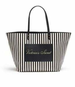 Victoria's Secret   Signature Striped Tote Bag Classic