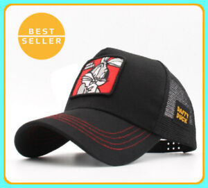 New Animals Bugs Bunny Embroidery Men's Baseball Cap Women Snapback Hip Hop Cap