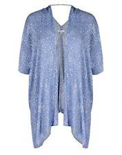 Autograph Ladies Animal Print Blue Viscose Kimono Size S/M or 16-20 (FREE POST)