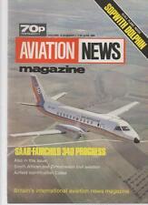 AVIATION NEWS MODEL MAGAZINE V13 N1 SAAB-FAIRCHILD 340 PROGRESS, SOPWITH DOLPHIN