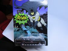 HOT WHEELS BATMAN CLASSIC TV SERIES BATMOBILE 1/6 NEW ON CARD