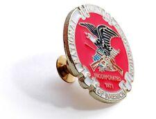 Nra White Eagle Brass Lapel Pin National Rifle Association White Eagle -