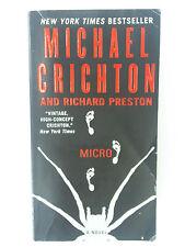 MICRO by Michael Crichton and Richard Preston (2012, Paperback)