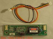 "UNIVERSAL INVERTER 10V-28V 2 Larger Connector Fro 15-24"" CCFL LCD MONITOR #9"