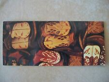 """Leanin' Tree Western Tradition """"Cowboy Boots"""" Birthday Card & Envelope, NEW"""