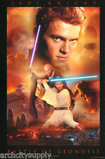 POSTER: MOVIE REPRO:STAR WARS - JEDI KNIGHT - BATTLE - FREE SHIP #2580 RAP27 B