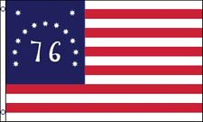 New 3'x5' Bennington 1776 Historical Us American Flag Polyester