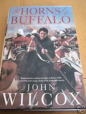 JOHN WILCOX-HORNS OF THE BUFFALO - SIGNED/LINED/DATED UK 1/1