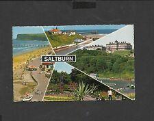 Vintage Bamforth Multi View Colour Postcard  Saltburn Yorkshire unposted