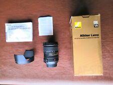 Nikon Nikkor AF-S DX VR 18-200mm F3.5-5.6G IF-ED + Hood + Bag Camera Zoom Lens