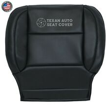 2018 2019 Chevy Suburban Sport HD -Driver Bottom Leatherette Seat Cover Black