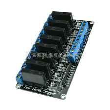 250V 2A 5V 8 Channel Low Level Trigger Arduino Solid State Relay Module + Fuse