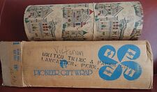 "Antique Pioneer Gift Wrap 833 ft 18"" Ream Roll United Twine & Paper Lancaster PA"