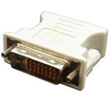 ADATTATORE DVI-D 24 +1 PIN MASCHIO A VGA FEMMINA 15 PIN CONVERTITORE ADAPTER