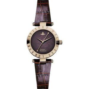 Vivienne Westwood Westbourne II Leather Ladies Watch VV092BRBR RRP £199 SALE!