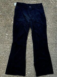 Vintage 90's Cord Flares Flared Bootcut Jeans Trousers Pants Unworn Deadstock