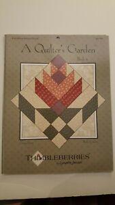 "Thimbleberries by Lynette Jensen- A Quilters Garden ""Cactus Flower"" Block 4"