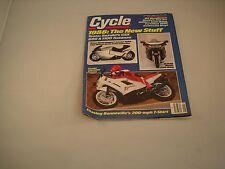 CYCLE MAGAZINE JANUARY 1988 VOLUME XXXIX NUMBER 1