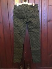 ELEMENT JEANS OLIVE GREEN & BLACK SIZE 8