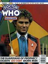 DOCTOR WHO MAGAZINE #170 THE GUARDIANS OF PROPHECY, JON PERTWEE, JEFF RAWLE