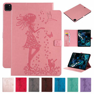 """For iPad Pro 12.9"""" (4th Gen) 2020 Magnetic Flip Leather Wallet Stand Case Cover"""