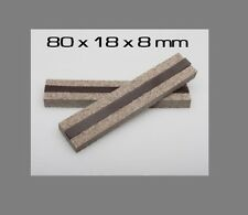 80x18x8mm VFG Weapon Care Magnetic Felt Clamps for Vises