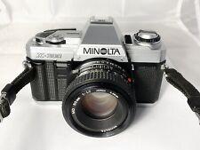 Minolta X-300 Film Camera & MD 50mm F1.7  M/F Lens - Working, Near Mint