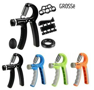 10-60KG Adjustable Hand Grip Strengthener Wrist Forearm Trainer Exerciser